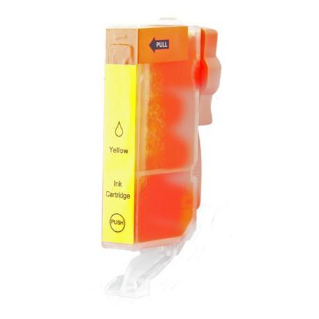 Cartridge Canon CLI-526Y (CLI-526, PGI-525) žlutá (yellow) - kompatibilní inkoustová náplň - MG-5250, MG-8150, MG-5150