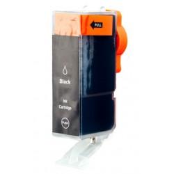 cartridge Canon PGI-520Bk (PGI520, CLI521) černá (black) - kompatibilní inkoustová náplň - IP-3600,IP-4600,MP-550,MP-640, MP540