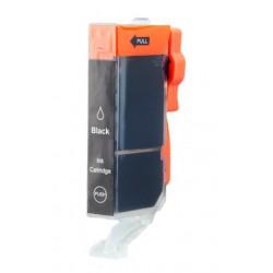 Cartridge Canon CLI-521Bk (PGI520, CLI521) foto-černá (photo-black) - kompatibilní inkoustová náplň - IP-3600,IP-4600,MP-550,MP-