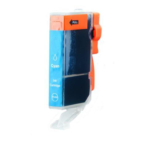 Cartridge Canon CLI-521C (PGI520, CLI521) modrá (cyan) - kompatibilní inkoustová náplň - IP-3600,IP-4600,MP-550, MP-540