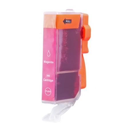 Cartridge Canon CLI-521M (PGI520, CLI521) červená (magenta) - kompatibilní inkoustová náplň - IP-3600,IP-4600,MP-550, MP-540