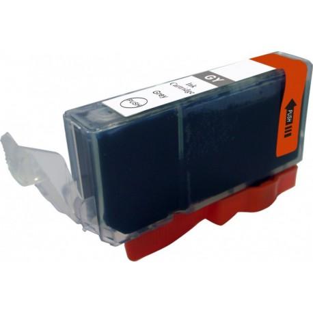 Cartridge Canon CLI-521GY (PGI520, CLI521) šedá (gray) - kompatibilní inkoustová náplň - MP-980, MP-990
