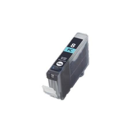 Cartridge Canon CLI-8PC (PGI-5, CLI-8) foto modrá (photo cyan) - kompatibilní inkoustová náplň - IP-6600D,IP-6700D,MP-950,MP-960
