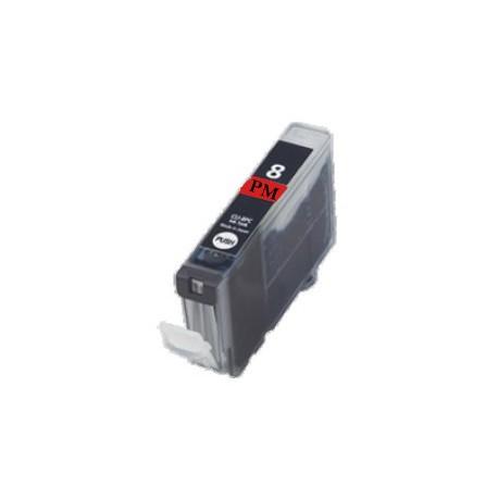 Cartridge Canon CLI-8PM (PGI-5, CLI-8) foto červená (photo magenta) - kompatibilní inkoustová náplň - IP-6600D,IP-6700D,MP-960