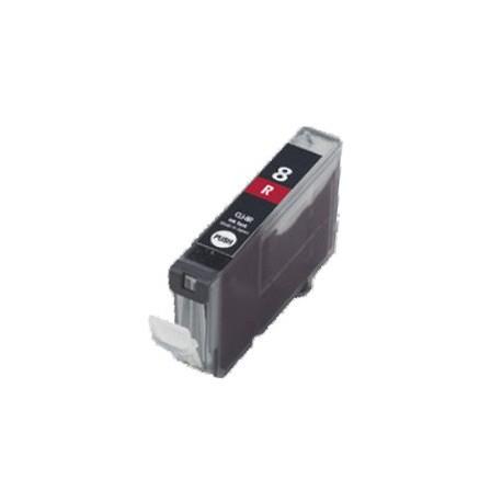 Cartridge Canon CLI-8R (PGI-5, CLI-8)  červená (red) - kompatibilní inkoustová náplň - Pixma Pro9000