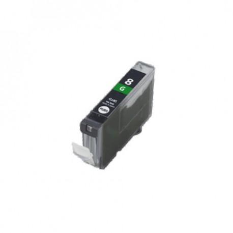 Cartridge Canon CLI-8G (PGI-5, CLI-8)  zelená (green) - kompatibilní inkoustová náplň - Pixma Pro9000