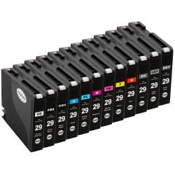 Sada 12ks Canon PGI-29 pro  PIXMA Pro 1 - kompatibilní inkoustové náplně (cartridge)  - Canon