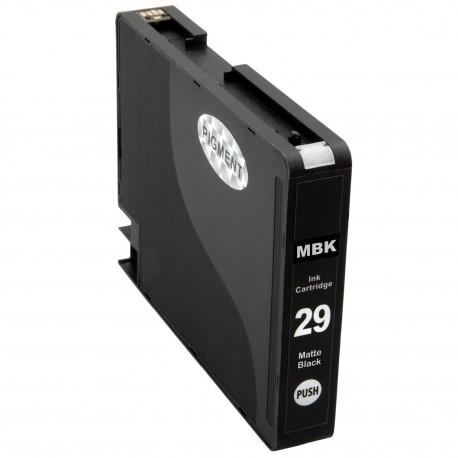 Cartridge PGI-29 MBK Matte Black pro  PIXMA Pro 1 - kompatibilní inkoustové nápln (cartridge)  - Canon