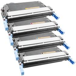 4x Toner HP Q6460A, Q6461A, Q6462A, Q6463A, Q6460 - Color LaserJet 4730, 4730 MFP, CM4730 - C/M/Y/K kompatibilní
