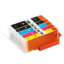 Sada Canon PGI-550 / CLI-551 PIXMA IP7250/MG5450/MG6350/MX725/ MX925 - kompatibilní inkoustové náplně (cartridge)  - Canon