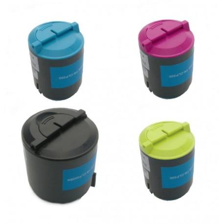 4x Toner SAMSUNG CLT-P300A (K300A, Y300A, M300A, C300A) - C/M/Y/K kompatibilní - CLP-300, CLX-2160, CLX-3130, CLX-3160