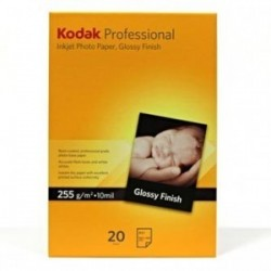 Kodak Professional Inkjet Photo paper, glossy, papír, bílý, A3+, 255 g/m2, 20 KPROA3+G, inkoustový