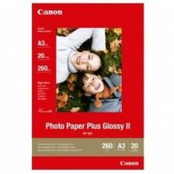 Canon Photo Paper Plus Glossy, foto papír, lesklý, bílý, A3, 275 g/m2, 20 ks, PP-201 A3, inkoustový