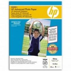 """HP Advanced Glossy Photo Paper, foto papír, lesklý, zdokonalený, bílý, 13x18cm, 5x7"""", 250 g/m2, 25 ks, Q8696A, inkoustov…"""
