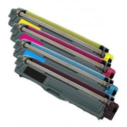 4x Toner Brother TN-245 (TN-245Bk, TN-241BK, TN-245Y, TN-245C, TN-241M) - C/M/Y/K kompatibilní - DCP-9020, HL-3150, MCF-9330