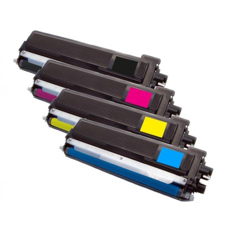 4x Toner Brother TN-230 (TN-230BK, TN-230C, TN-230M, TN-230Y) - C/M/Y/K kompatibilní - HL-3040, MFC-9120, DCP-9010