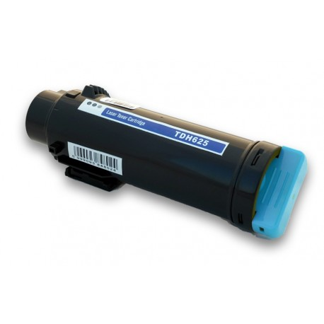 Toner DELL H625 modrý (cyan) 593-BBSD P3HJK, 593-BBSC WG4T0,  2500 stran kompatibilní pro H625cdw, H825, H825cdw, S2825cdn