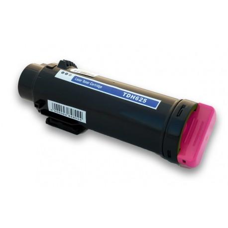 Toner DELL H625 červený (magenta) 593-BBRV 5PG7P, 593-BBRX 042T1,  2500 stran kompatibilní pro H625cdw, H825, H825cdw, S2825cdn