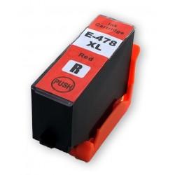 Cartridge Epson 478XL (C13T04F54010) červená (red) kompatibilní inkoustová náplň pro Epson Expression Photo HD XP-15000