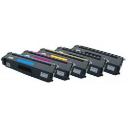 5x Toner Brother TN-328 (TN-328Bk, TN-328C, TN-328Y, TN-328M) - C/M/Y/2xK kompatibilní - HL-4140, HL-4150,  MFC-9460, MFC-9970