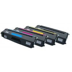 4x Toner Brother TN-328 (TN-328Bk, TN-328C, TN-328Y, TN-328M) - C/M/Y/K kompatibilní - MFC-9460, DCP-9270, DCP-9055, HL-4570
