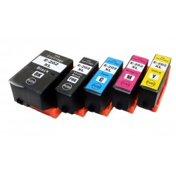 Sada 5ks Epson 202XL (C13T02G74010) kompatibilní inkoustové náplně (cartridge) Expression Premium XP-6000, XP-6001, XP-6005