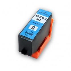 Cartridge Epson 202XL (T202XL, T02H24010) modrá (cyan) kompatibilní inkoustová náplň Expression Premium XP-6000, XP-6001,XP-6005