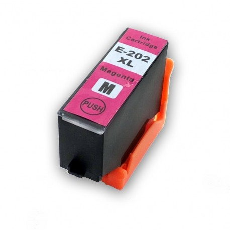 Cartridge Epson 202XL (T202XL, T02H34010) červená (magenta) kompatibilní inkoustová náplň Expression Premium XP-6000, XP-6005