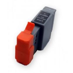 Cartridge Canon BCI-24Bk (BCI-24, BCI24Bk, 6881A002) černá (black) kompatibilní inkoustová náplň pro Canon S200, BJC-2000