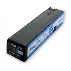 Cartridge HP 980XL (980 XL, D8J10A) černá (black) HP Officejet Enterprise Color X585z, X555dn - kompatibilní inkoustová náplň
