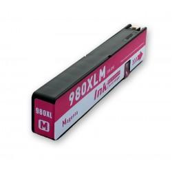 Cartridge HP 980XL (980 XL, D8J08A) červená (magenta) HP Officejet Enterprise Color X585z, X555 - kompatibilní inkoustová náplň