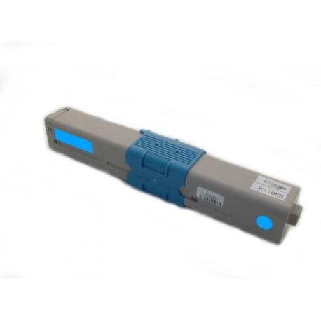 Toner Oki C332 46508711 modrý (cyan) 3000 stran kompatibilní - Oki C332dn, C332cdw, MC363, MC363dw, MC363cdw