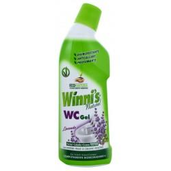 Winni's WC gel 750ml -  Šetrný čistič WC s vůní středomořské levandule - MADEL