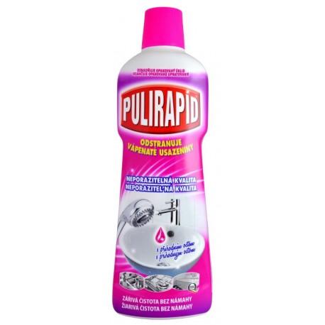 Pulirapid Aceto 750ml - Odstraňovač vodního kamene s přírodním octem - MADEL
