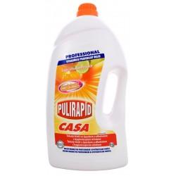 Pulirapid Casa Agrumi 5000ml - Čistič na tvrdé povrchy s čpavkem - MADEL