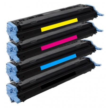4x Toner Canon CRG-707BK, CRG-707M, CRG707Y, CRG707-C pro LBP-5000, LBP-5100 (9424A004, 9423A004) - C/M/Y/K kompatibilní