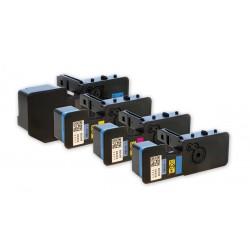 4x Toner Kyocera Mita TK-5220, TK-5220K, TK-5220C, TK-5220M, TK-5220Y  - C/M/Y/K kompatibilní - Ecosys P5021, M5521