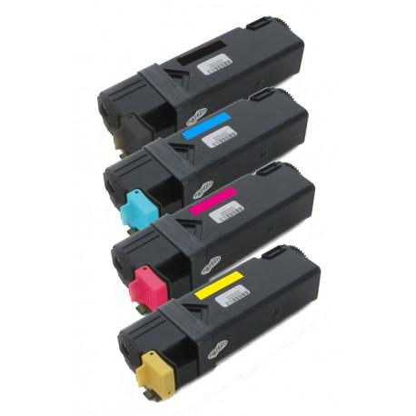 4x Toner Dell 2150 / 2150CN / 2150CDN / 2155 / 2155CN - C/M/Y/K vysokokapacitní kompatibilní MY5TJ, NPDXG, 8WNV5, 769TJ