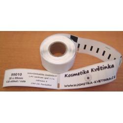 Etikety / Štítky Dymo Labelwriter 89x28mm, 99010, S0722370,  130ks kompatibilní