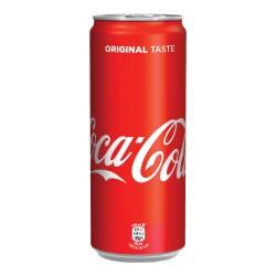 Dárek - Coca-Cola - plechovka 330ml - pro objednávky zboží nad 500Kč
