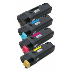 4x Toner Dell 1320 / 1320C / 1320CN / 1320DN - C/M/Y/K vysokokapacitní kompatibilní DT615, KU061, PN124, WM138
