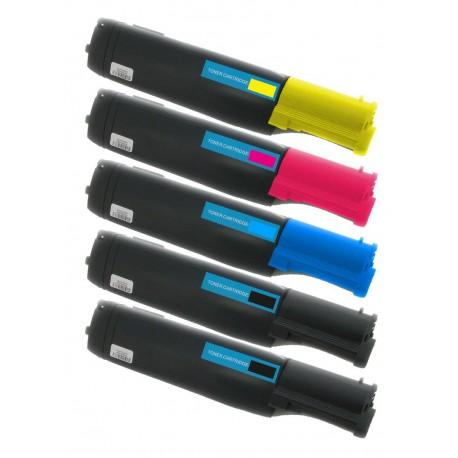 5x Toner Epson pro C1100, CX11N, CX11NF, Aculaser (C13S050190, C13S050189, C13S050188, C13S050187)- C/M/Y/2xK kompatibilní