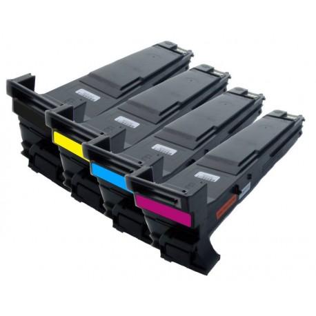 Sada 4x Toner Konica Minolta Magicolor A0DK152, A0DK252, A0DK352, A0DK452, A0DKJ51 - C/M/Y/K kompatibilní - 4650, 4690, 4695