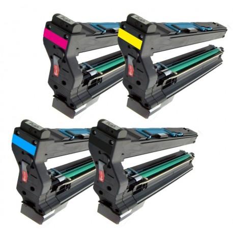 Sada 4x Toner Konica Minolta Magicolor 1710582001, 1710582002, 1710582003, 1710582004 - C/M/Y/K kompatibilní -  5430 / 5430DL