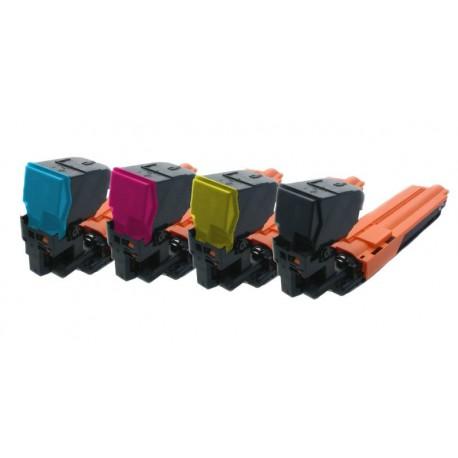 Sada 4x Toner Konica Minolta TNP-20, TNP-20K, A0WG0JH, A0WG07H, A0WG02H, A0WG0DH - C/M/Y/K kompatibilní - 3730, 3730N, 3730DN