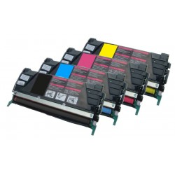 Sada 4x toner Lexmark C734A2KG, C734A2MG, C734A2CG, C734A2YG - C/M/Y/K kompatibilní -  C734, C736, X734, X736