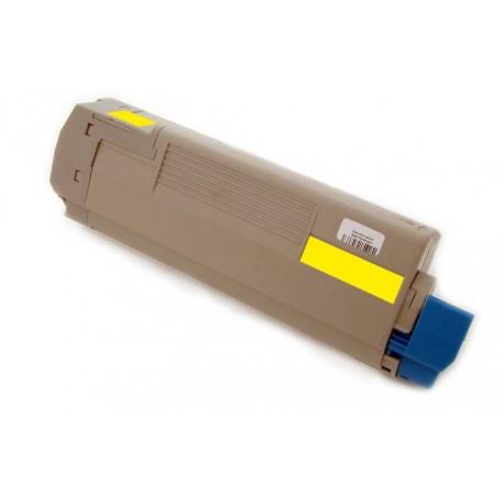 Toner Oki 43865721 žlutý (yellow) 6000 stran kompatibilní - Oki C5850, C5850N, C5850DN, C5950, C5950N, C5950DN, MC560N