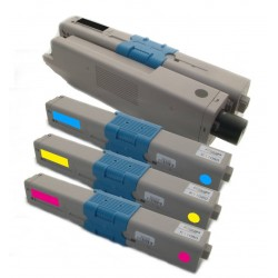 4x Toner Oki 44469803, 44469704, 44469705, 44469706  - C/M/Y/K kompatibilní - Oki C310, C310DN, C330 DN, C510, C510DN, MC351