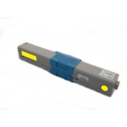 Toner Oki C310 44469704 žlutý (yellow) 2000 stran kompatibilní - Oki C310DN, C330, C330DN, C510, C510DN, MC351, MC561