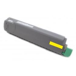 Toner Oki C8600 43487709 žlutý (yellow) 6000 stran kompatibilní - Oki C8600N, C8800, C8800N, C8800DN
